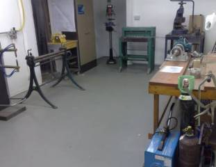 MB Industrial Fabrication workshop